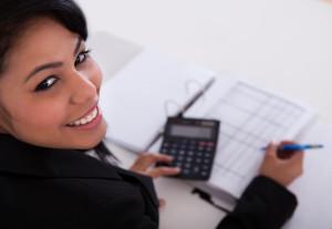 Income Tax Preparation Professional Lady
